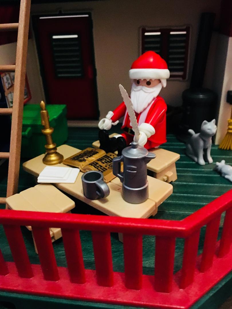 Playmobil Weihnachten.Farbenfrohe Regentage Playmobil Weihnachten