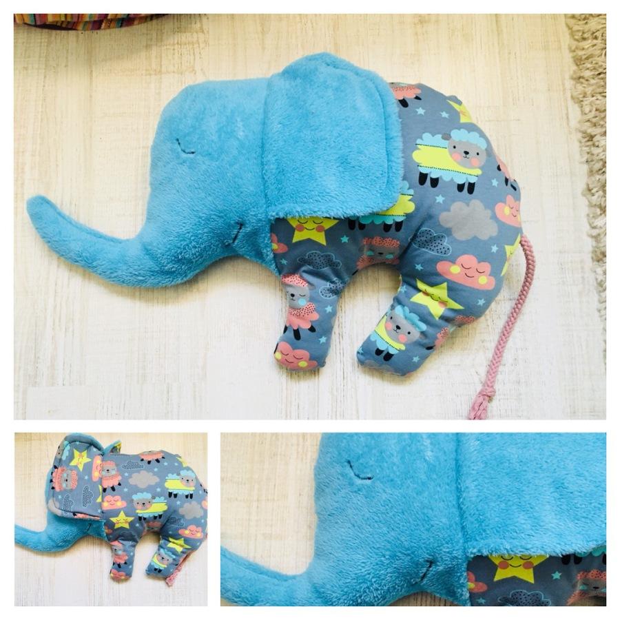 farbenfrohe Regentage - Kuschelelefant